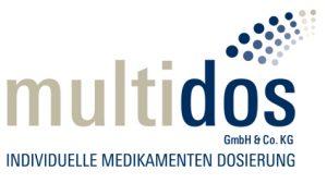 multidos Logo mit Verlinkung auf Internetseite